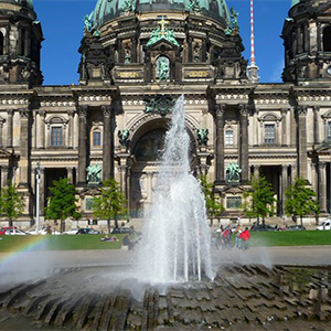 Historic Berlin Cathedral filming location