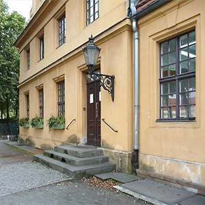 Small historic house location Berlin