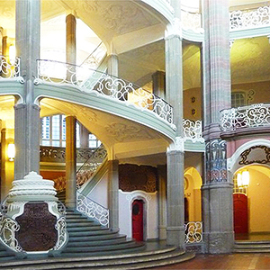 Impressive historic staircases hall Berlin